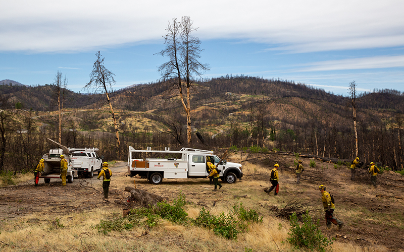 Wildfire-vulnerable communities search for ways to live with growing threat