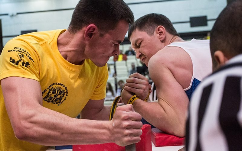 super słodki w sprzedaży hurtowej wyprzedaż resztek magazynowych Arm-wrestling champion reflects on his journey   Cronkite ...