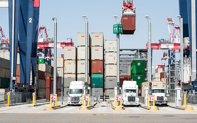 Arizona officials fear fallout as new tariffs on Chinese goods start Tarifftrucks-800