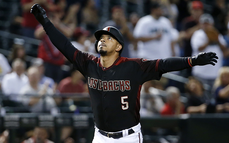 newest 8511a 2b5b1 Dbacks players strongly support teammate Escobar for ...
