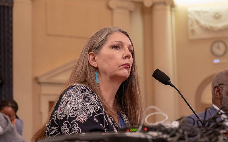 Arizona lawmaker brings personal story, gun-reform plea to Washington