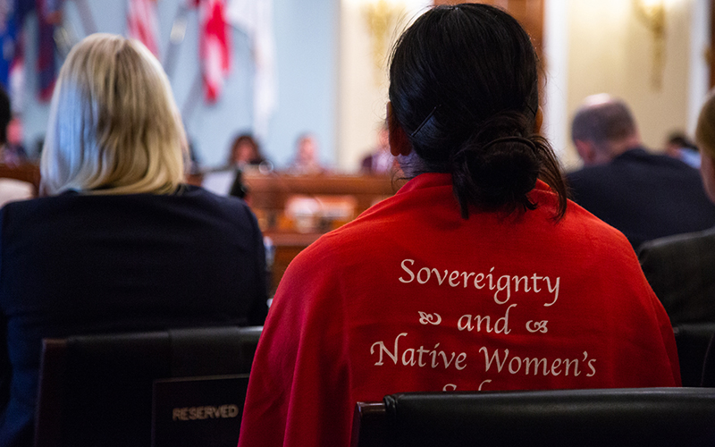 House panel questions officials on efforts to help Native women