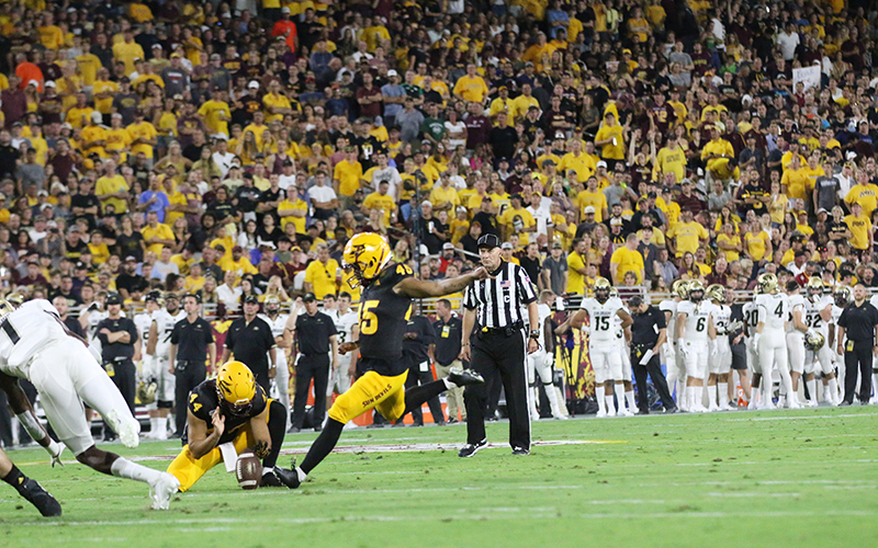 Here's the kicker: Once a walk-on, Cristian Zendejas plays key role for ASU