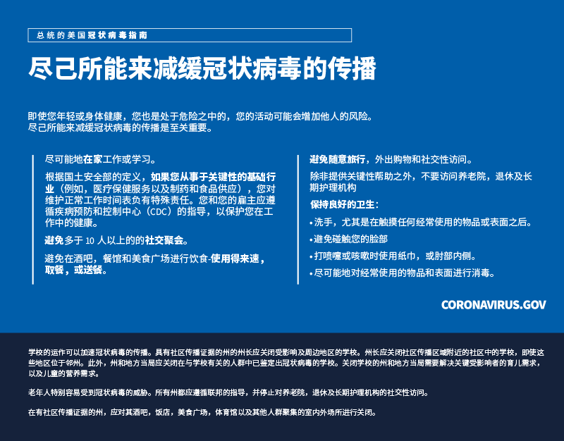 Simplified Chinese flyer