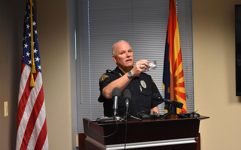 The chief of police of Tucson, resigned after the death arrested
