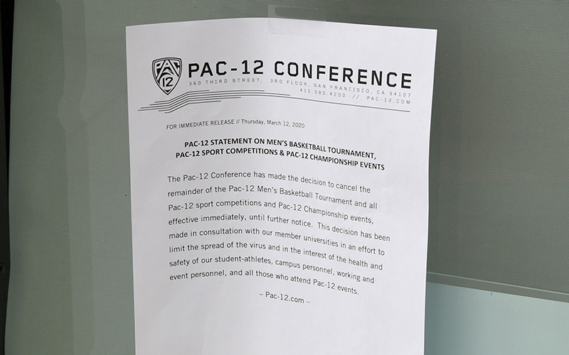 'Game-changer': Pac-12 announces breakthrough partnership for rapid COVID tests