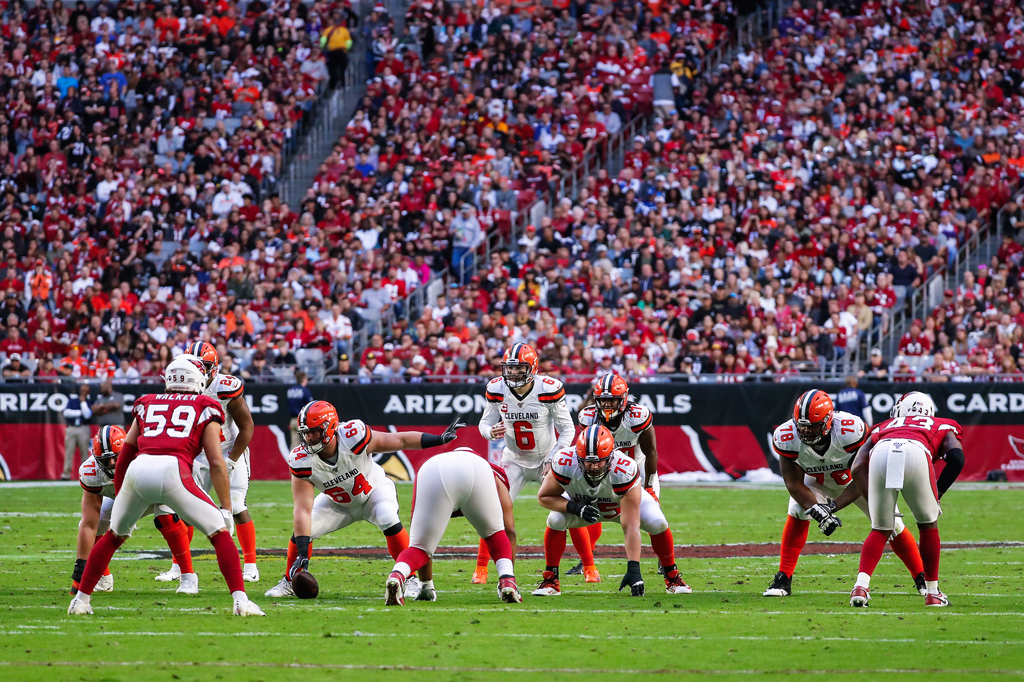 Among Arizona's sports team in the biggest four professional leagues – the NHL, NBA, NFL and MLB – the Cardinals are worth the most, a figure aided when crowds are allowed inside State Farm Stadium. (Photo by Kevin Abele/Icon Sportswire via Getty Images)