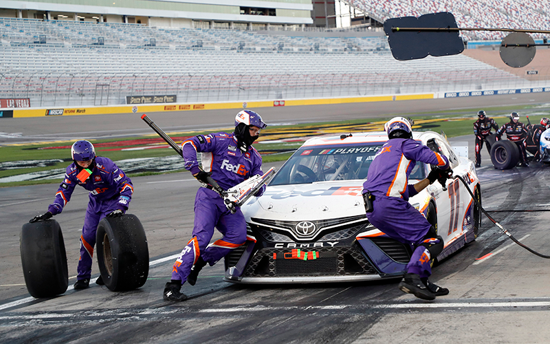 From chasing to racing: Former ASU defensive end Mills finds thrills as NASCAR jackman