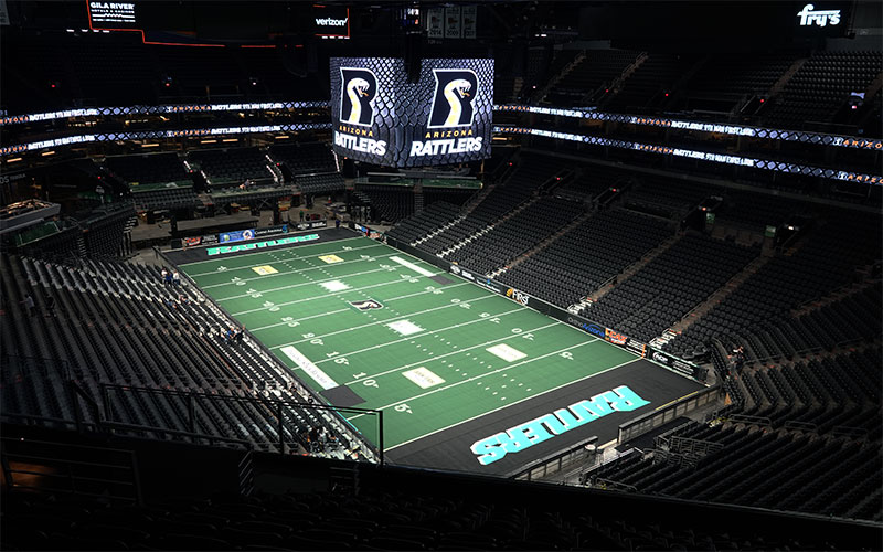 After two-year absence, Rattlers return to Phoenix Suns Arena