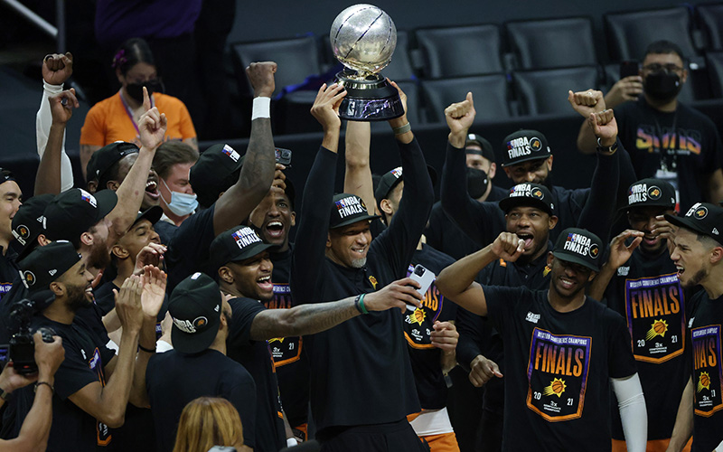 """Phoenix Suns, after """"being lengendary,"""" are heading to NBA Finals."""