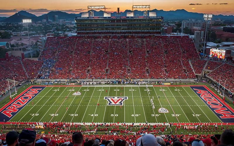 Arizona Stadium in Tucson, Arizona