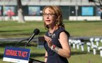 'Be bold. Be courageous': Gabby Giffords opens Gun Violence Memorial in LA