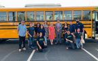 Latina moms, environmental advocates fight air pollution with electric school bus